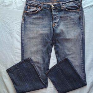 7FAMK boycut staight leg jeans size 31